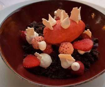Bessem restaurant dessert Mandelieu-La-Napoule
