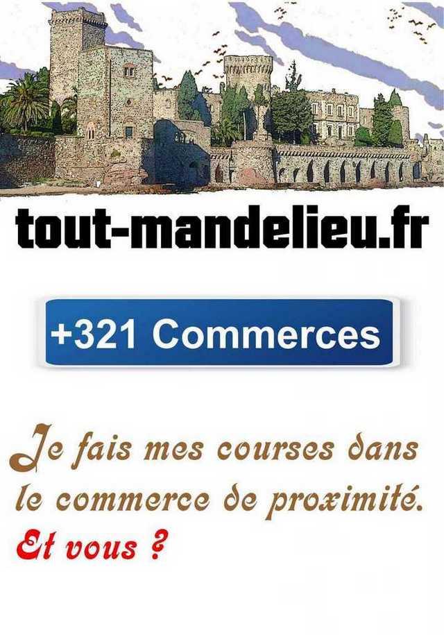 Commerces Mandelieu-La Napoule