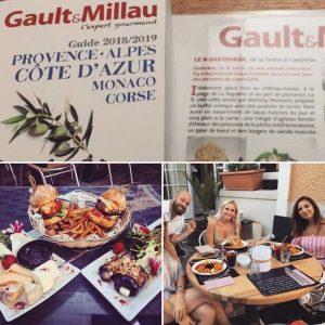 Gault et Millau le 8 Mandelieu-La Napoule