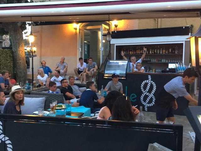 terrasse Hotel restaurant Le 8 Mandelieu-La Napoule